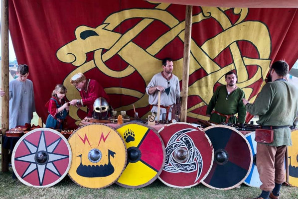 Saga Viking display to be at the Pine Rivers Show